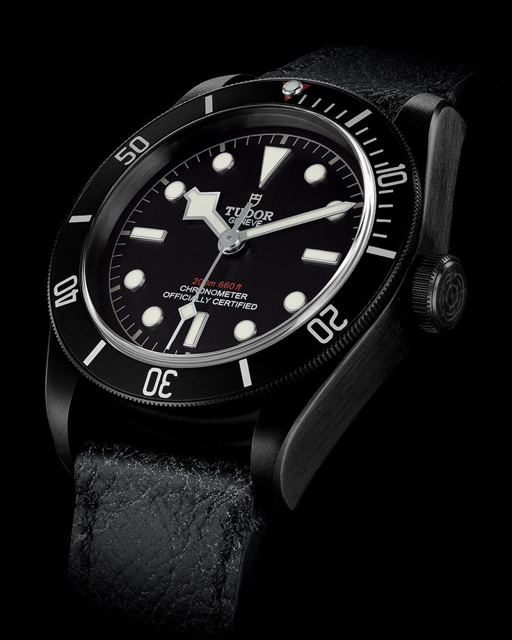 Tudor introduces the Heritage Black Bay Dark diving watch featuring an entirely satin matt finish. Learn more on the Official Tudor Website.