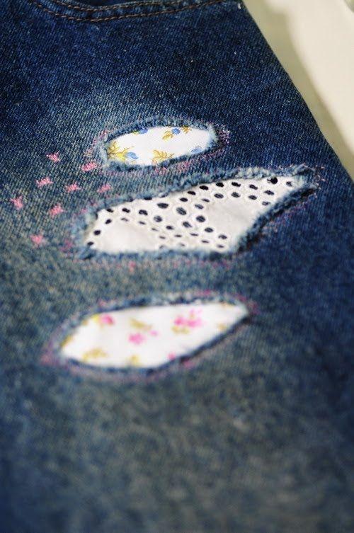 Como bordar sobre jean - Parches sobre Denim  - Maquinas de Coser Brother