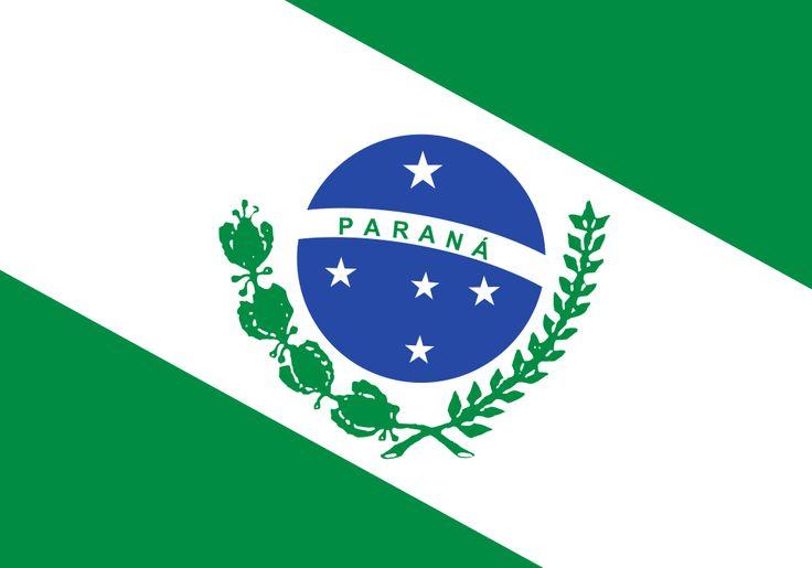 Bandeira do Paraná - Lista de bandeiras do Brasil – Wikipédia, a enciclopédia livre