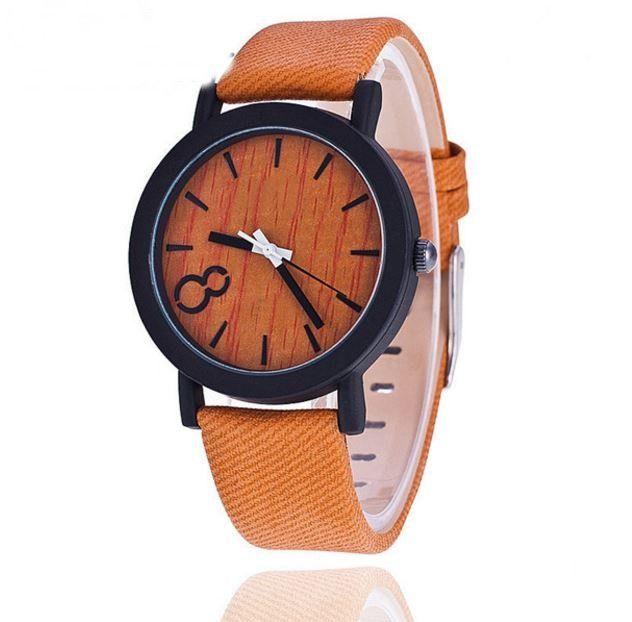 Dámské i pánské unisex moderní hodinky s motivem dřeva – oranžový pásek – SLEVA 50 % + POŠTOVNÉ ZDARMA Na tento produkt se vztahuje nejen zajímavá sleva, ale také poštovné zdarma! Využij této výhodné nabídky …