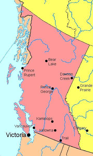 Snapshot, Canada: British Columbia