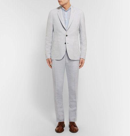 Paul Smith slim fit linen suit