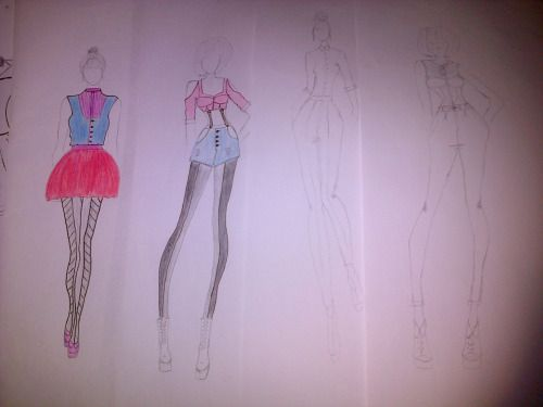 :/ my illustrations ……. gosh!! i need proper crayons :(
