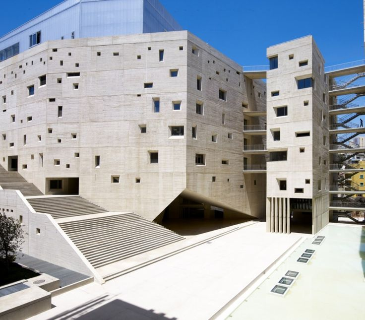 USJ Campus de L'Innovation et du Sport in Beirut, Lebanon by 109 Architects with Youssef Tohmé
