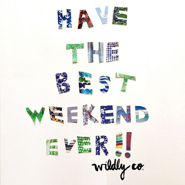 I try to every weekend :)