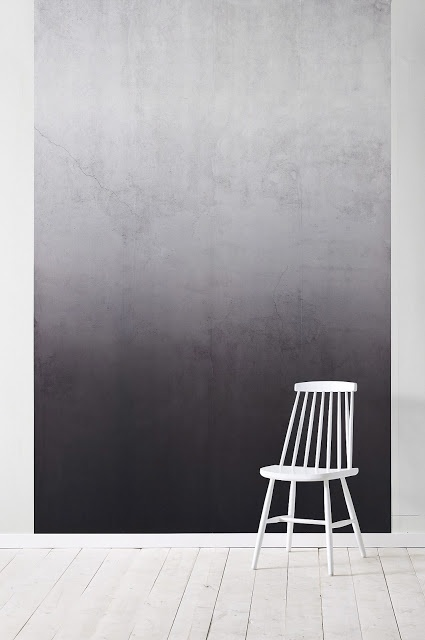 wallpapers from Ellos - wall - black - grey - ombre