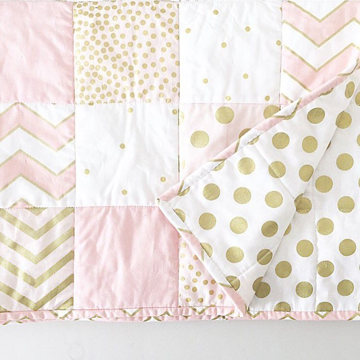 """Limited spots available on our gold and pink quilt. Wether it be for the cot , lay on the bed or as a lap quilt for yourself this piece is so versatile…"""