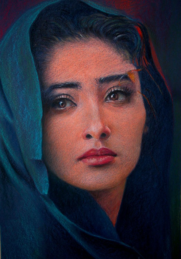 Manisha -a pastel painting - Digital Webbing Forums