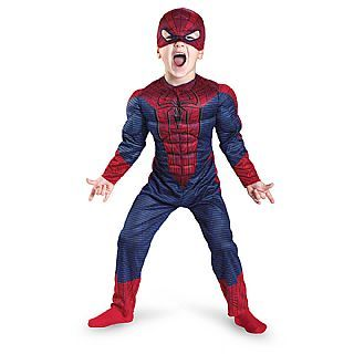 Muscle Toddler Spiderman Costume, Toddler Superhero Costume
