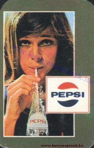 Pepsi Cola - 1972 0349 - Régi magyar kártyanaptárak