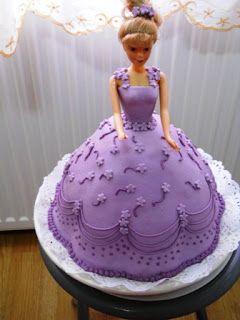 Rozsika tortái: Barbi torta