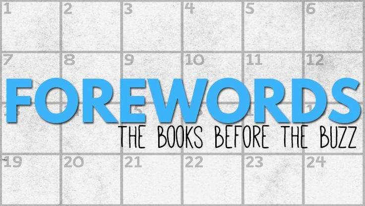 Forewords — The Books Before the Buzz | RT Book Reviews