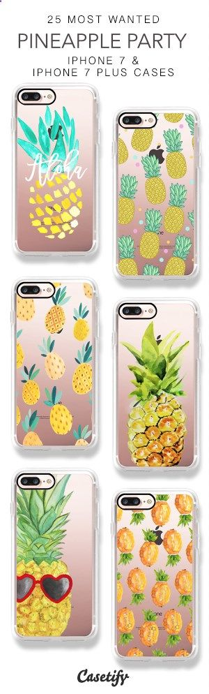 Phone Cases - 25 Most Wanted Pineapple Party iPhone 7 Cases & iPhone 7 Plus Cases here > www.casetify.com/...