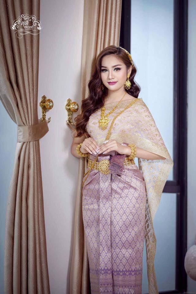 291 besten traditional dress Thai Khmer Bilder auf Pinterest ...