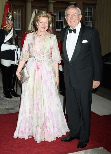 Queen Anne Marie Of Greece and King Constantine of Greece                                                                                                                                                                                 More