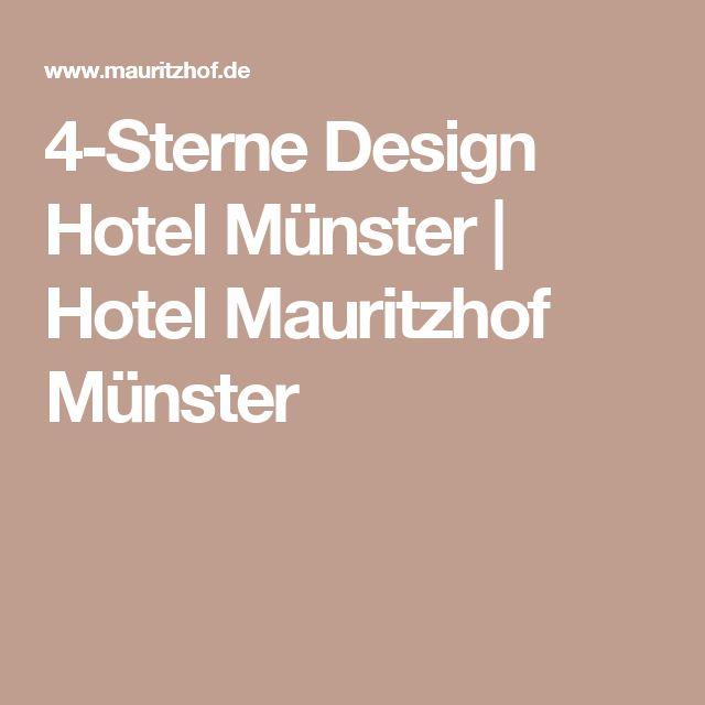 Luxury  Sterne Design Hotel M nster Hotel Mauritzhof M nster