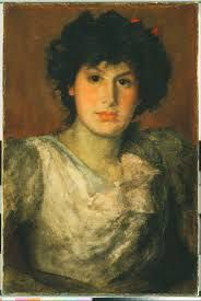 James Abbott McNeill Whistler - Miss Lillian Woakes
