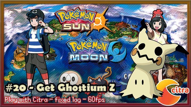 https://youtu.be/Fq-bjgVnhJE Let's play Pokemon Sun & Moon on PC - #20 Get Ghostium Z