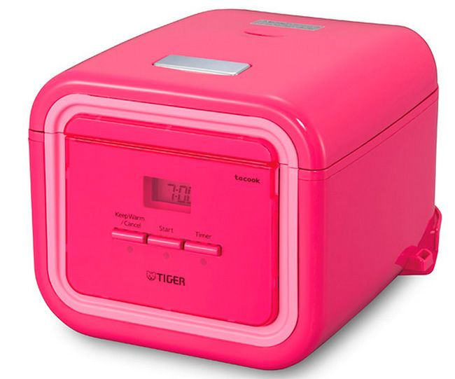 PINK Tiger Electric Rice Cooker Giveaway (Value $149)