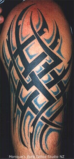 add shading to my tribal tattoos pinterest. Black Bedroom Furniture Sets. Home Design Ideas