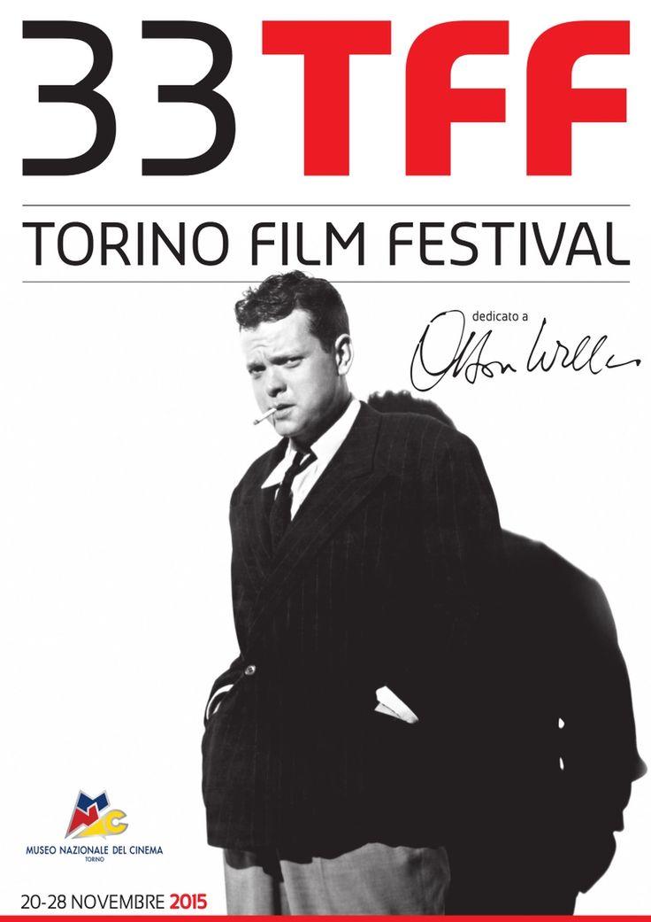 L'immagine simbolo del 33° Torino Film Festival (20 - 28 novembre 2015) è dedicata a Orson Welles.