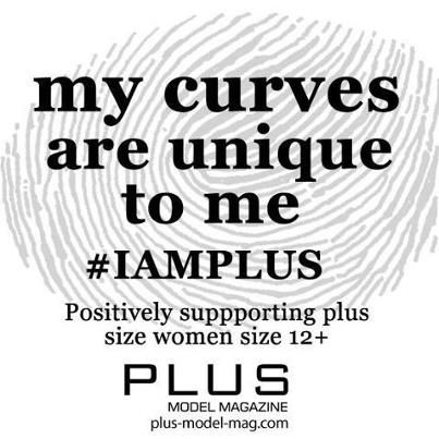 My curves are unique to me www.plus-model-mag.com facebook.com/plusmodelmag #plussize #fashion