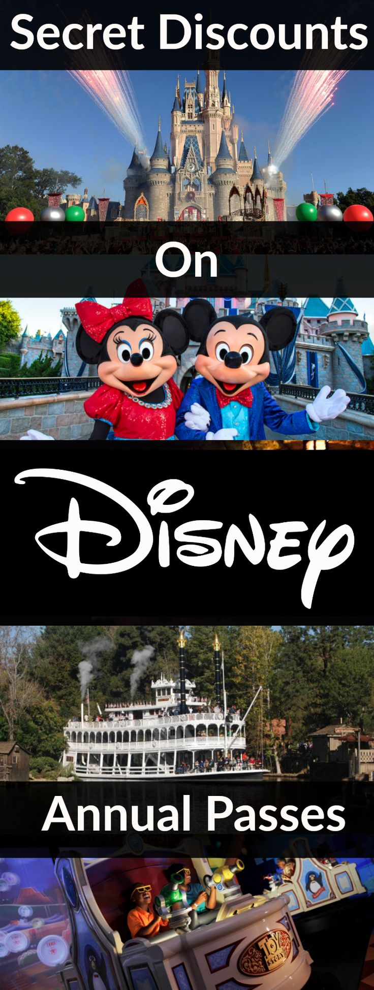 Annual Passports to Disneyland in California and Walt Disney World in Florida can be very expensive. These year long passes are rarely discounted to the general public beyond certain passes with lots of block out dates. There is a powerful hack to save money on your Disney Parks Annual Passports. This hack has been referred …