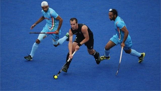 Blair Hopping. New Zealand. London 2012 Olympic Games. TK Hockey
