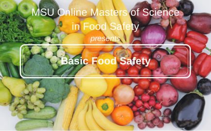 Aim to educate industry professionals working in quality assurance, covers the complex challenges of producing safer food throughout the supply chain on a global basis. The global nature of food supply means that food safety is now an international issue. ty for produce, the supply chain, international threats to food supply, and food borne disease. Michigan State University Online Master of Science in Food Safety http://www.online.foodsafety.msu.edu