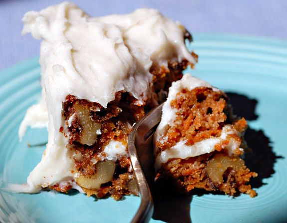 my standby GF carrot cake recipe. i have gluten-loving friends who say this is the best carrot cake they've ever had.