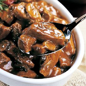Beef Tips and Mushrooms – Slow Cooker – Cream of mushroom soup,