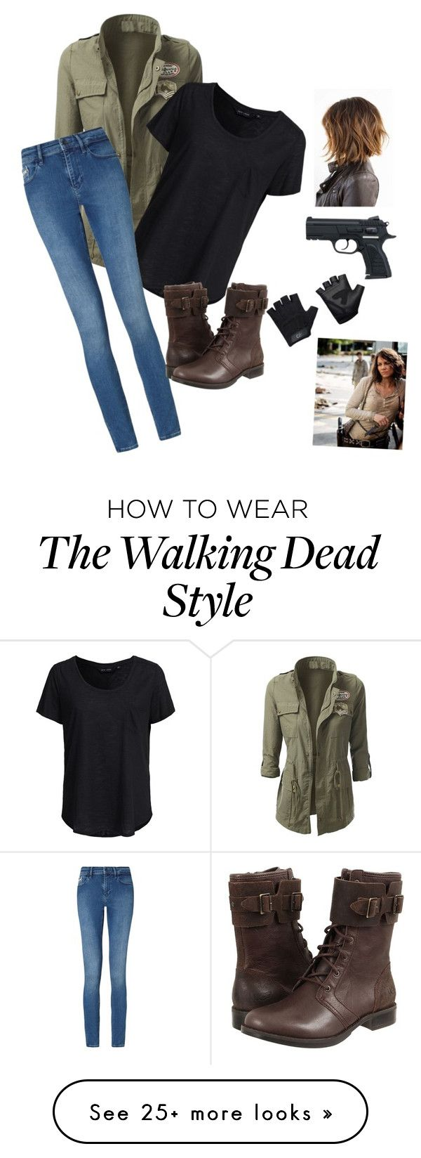 """""""Maggie of The Walking Dead"""" by dancegirl2006 on Polyvore featuring New Look, Calvin Klein, UGG Australia and Casall"""