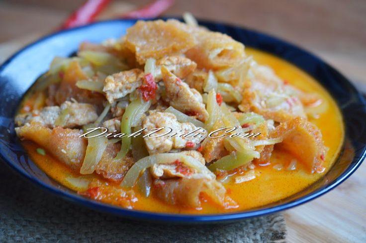Diah Didi's Kitchen: Sambal Goreng Labu & Tahu