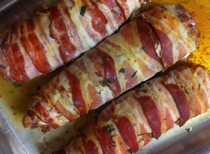 Involtini al Bacon....work in progress
