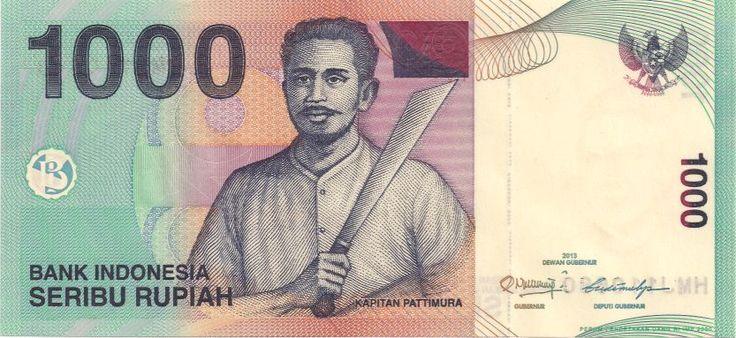 Vorderseite: Geldschein-Asien-Indonesien-Rupiah-1000-2013