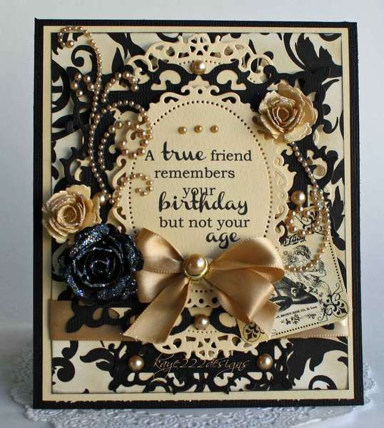 Card: A True Friend Remembers...