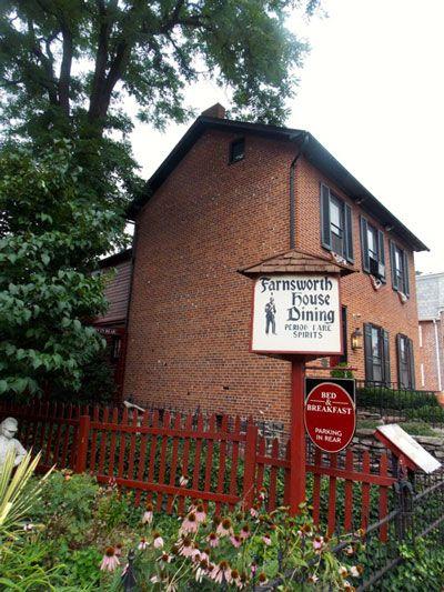 Farnsworth House Inn, Gettysburg, Pennsylvania