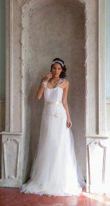 Clémence - Collection 2015 Les Délicates d'Elsa Gary - Robe de mariée en  dentelle