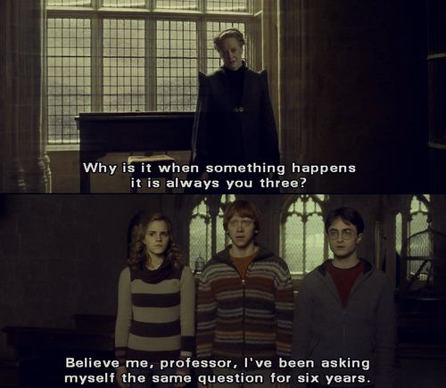 Best quote of Harry Potter and the Half-Blood Prince