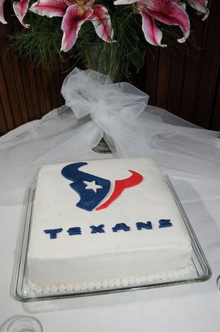 Houston Texans  on Cake Central