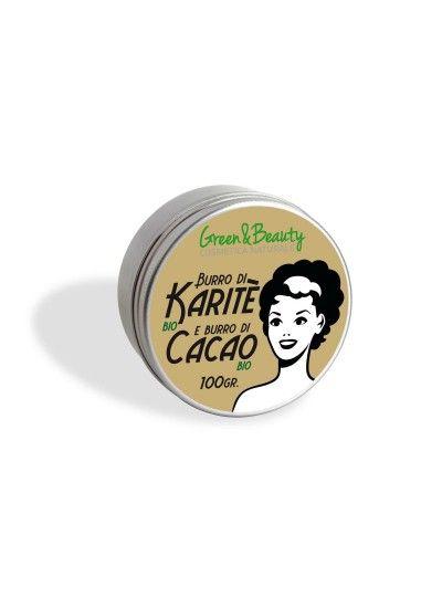 Manteiga de Karité Bio e Manteiga de cacau 100gr