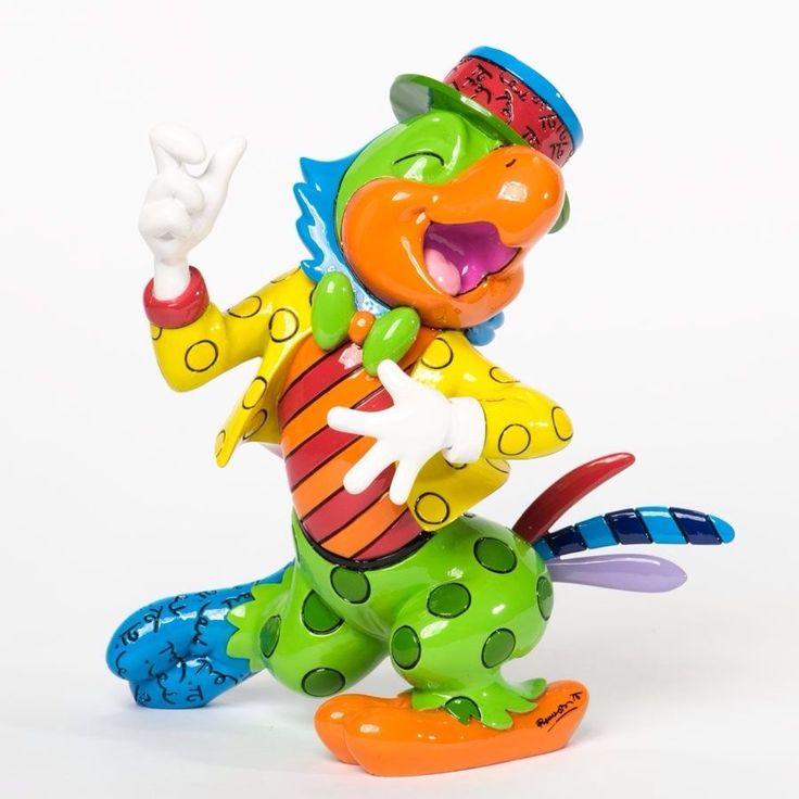 Authentic Romero Britto Disney Jose Carioca Parrot Figurine 7 Inches | eBay