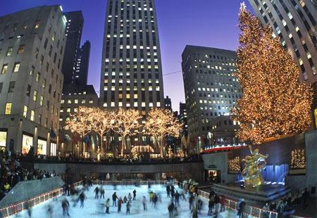 Rockefeller Center Christmas TreeXmas Trees, Places Nyc, Favorite Places, Center Christmas, Dreams, Christmas Decorations, Rockefeller Center, New York, Christmas Trees