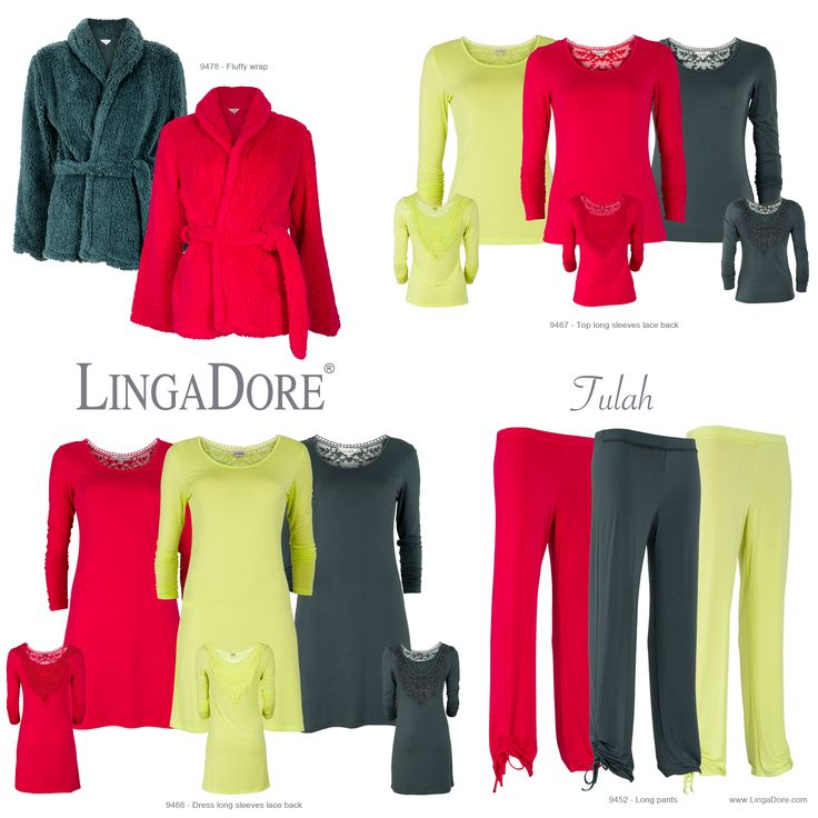 Meet Tulah of the LingaDore Lounge - Autumn | Winter 2014/'15 collection. Available in stores and on http://www.lingadore.com/search?all=tulah.