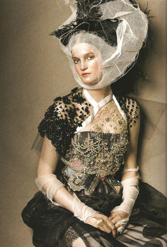 Photographer:Steven Meisel Magazine: Vogue Italia, March,2008