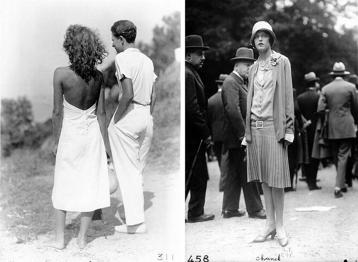 Chanel outfits of the 20's