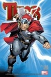 Asgard stands once more. Thor has reclaimed his role as the God of Thunder, and key members of his Norse pantheon stand by his side. Now, the blockbuster first arc by fan-mega-favorites J. Michael Straczynski (SPIDER-MAN: ONE MORE DAY) and Olivier Coipel (HOUSE OF M) comes to an end. What will be the new status quo for the Odinson? Just be sure to get this one before it sells out like the rest!!