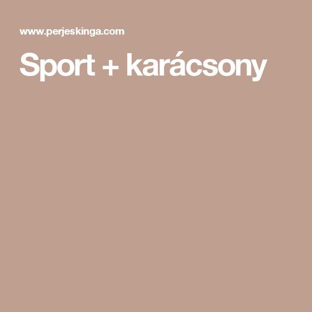 Sport + karácsony