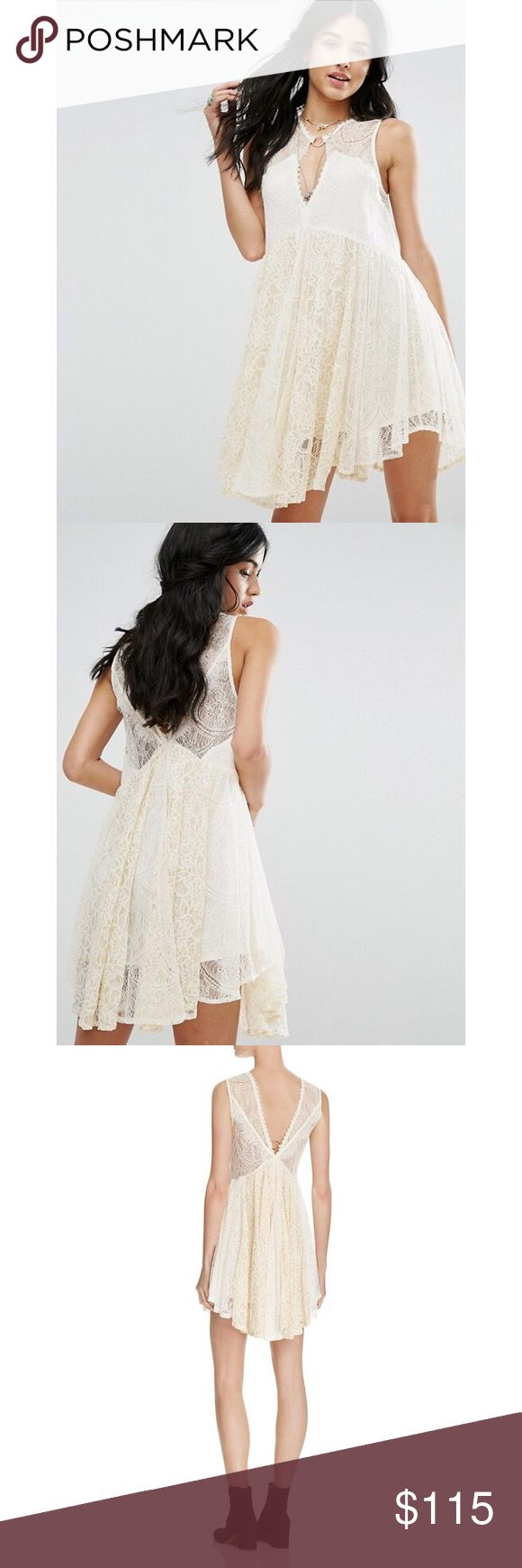Free People Lace Dress Brand new with tags. Retail: $128. Beautiful dress for any occasion! Free People Dresses