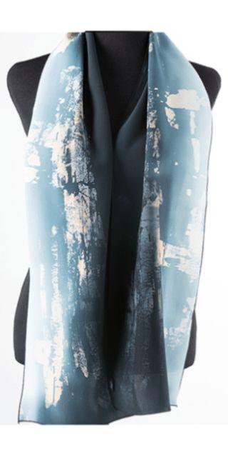 Silk Square Scarf - Underwater Reflection SK by VIDA VIDA 9zGWui3c